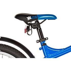 s'cool XXlite street 18 3-S Børnecykel alloy blå/sort